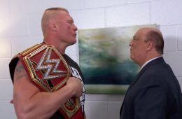 WWE Podría despedir a Brock Lesnar esta noche