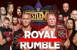 WWE Royal Rumble 2018 Ñet
