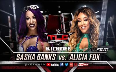 WWE TLC Kick Off 2017