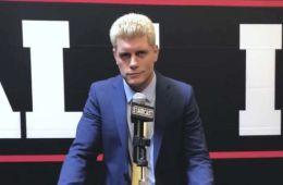 WWE habría ofrecido una oferta de contrato a Cody