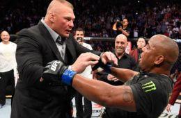 WWE molesta con la presencia de Brock Lesnar en UFC 226