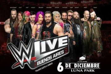 WWE volverá a Argentina el próximo mes de Diciembre