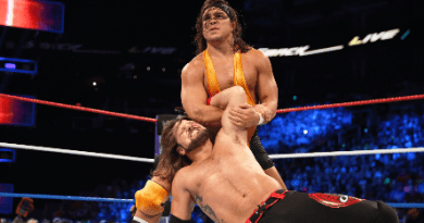 Chad Gable contra AJ Styles