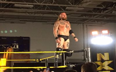 Aleister Black ayer en el show de NXT en Orlando