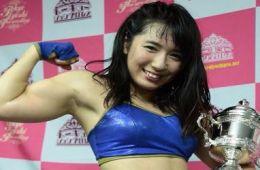Reika Saiki ganó la copa de Tokyo Joshi Pro este mes de julio