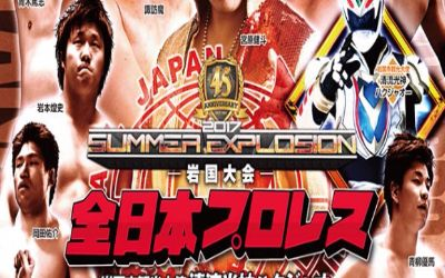 Puroresu AJPW Summer Explosion 2017