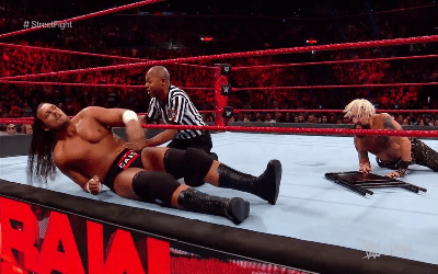 Big Cass lesionado en WWE RAW