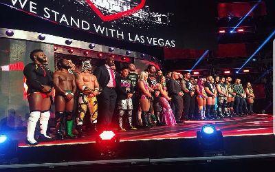 Homenaje a Las Vegas en RAW