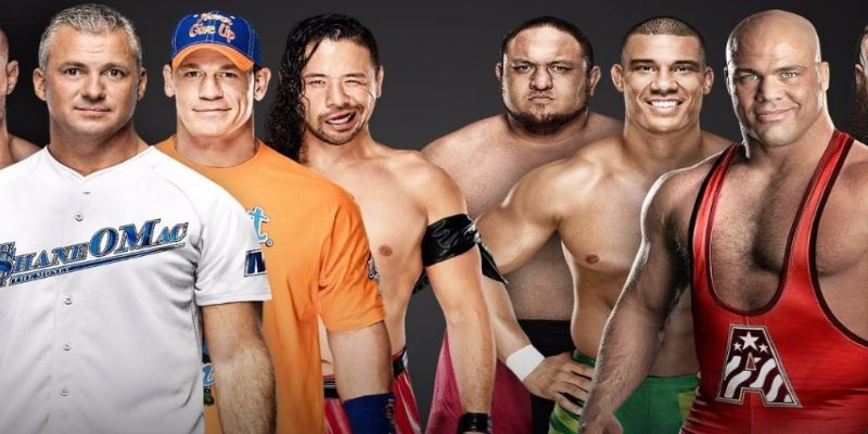 John Cena al team Smackdown en Survivor Series