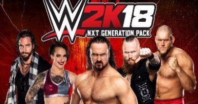 Ya disponible el pack Generación NXT de WWE 2K18