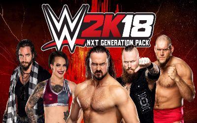 Generation NXT WWE 2K18