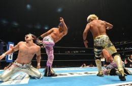 The Young Bucks en Wrestle Kingdom 12