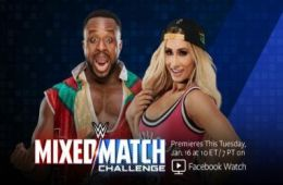 Carmella y Big E en Mixed Match