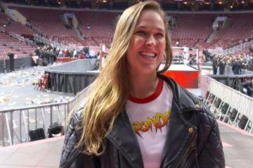 Ronda Rousey en Summerslam