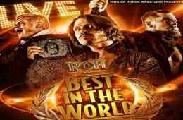 Resultados de ROH Best in the World 2018