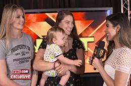 Jessamyn Duke y Marina Shafir en NXT
