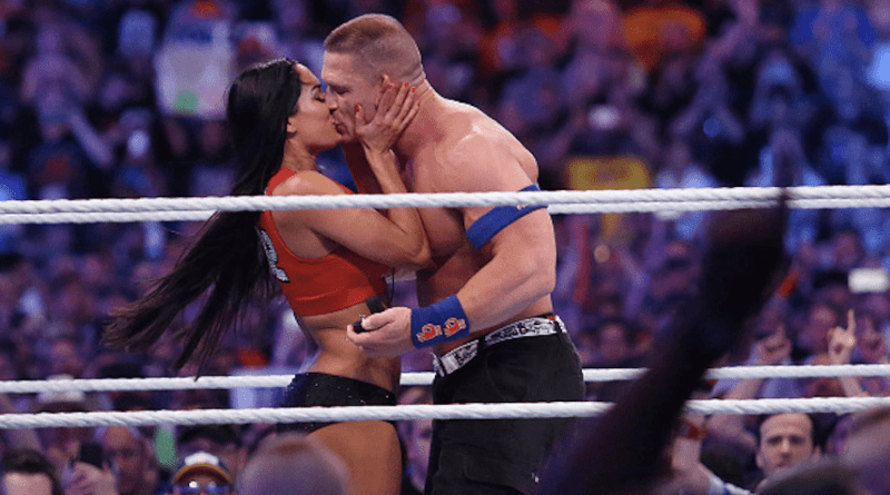 Nikki Bella y John Cena boda WrestleMania