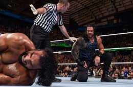 Roman Reigns amenaza a las nuevas estrellas de WWE