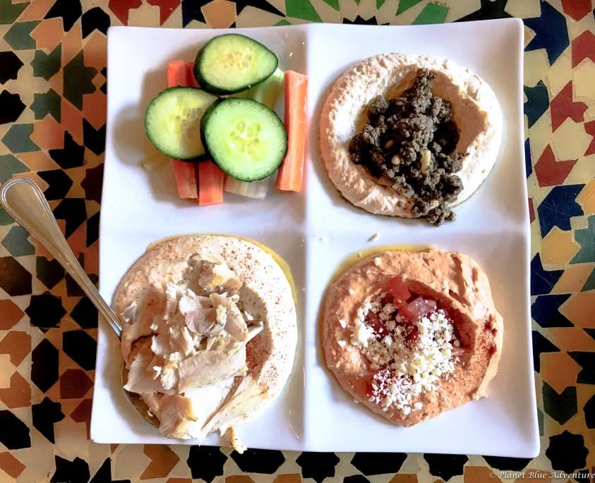 Arlington Virginia Lebanese Hummus Trio