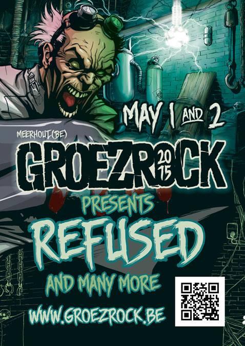 groezrock line up 2015