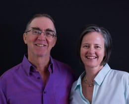 Dharma Teachers Doug Duncan and Catherine Pawasarat