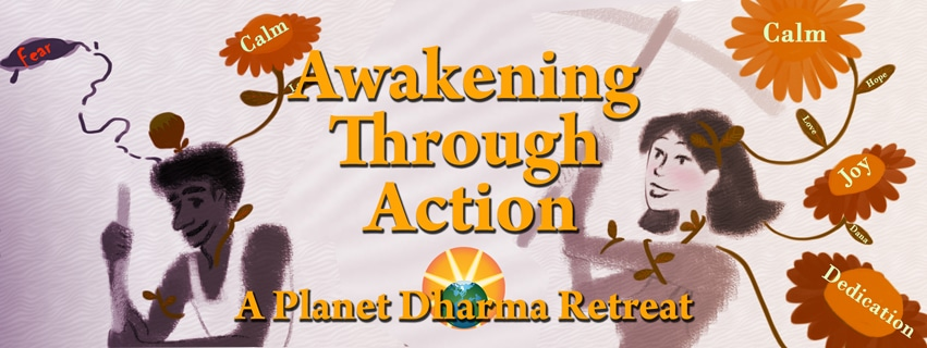 Awakening through action retreat BC