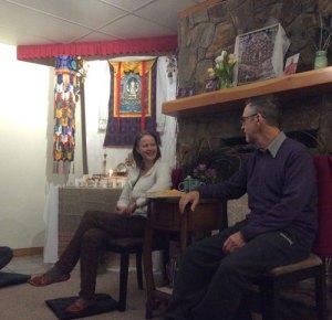Doug and Catherine Teaching Visuddhimagga