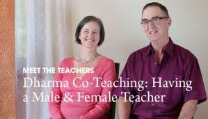 Video: Dharma Co-Teaching – Having a Male & Female Teacher