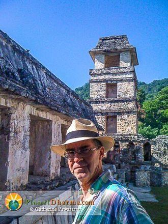 Doug Duncan Palenque Tower Chiapas
