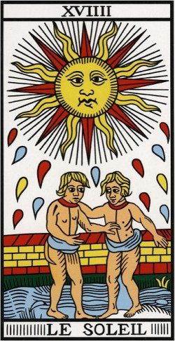 The Sun Card Tarot Western Mysteries