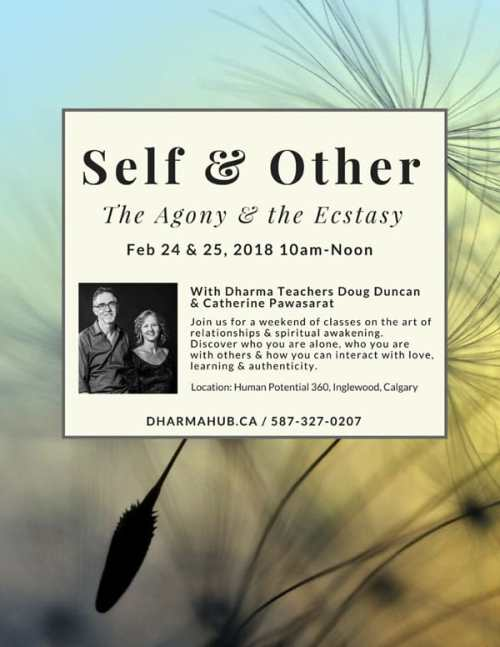 Self & Other Conscious Relationship Workshop Calgary