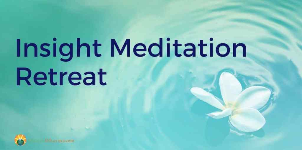 Insight meditation retreat in BC