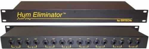 ebtech he8 8 channel rackmount hum eliminator