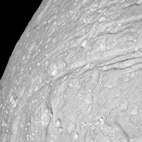 Téthys, satellite de Saturne ★ Planète Astronomie