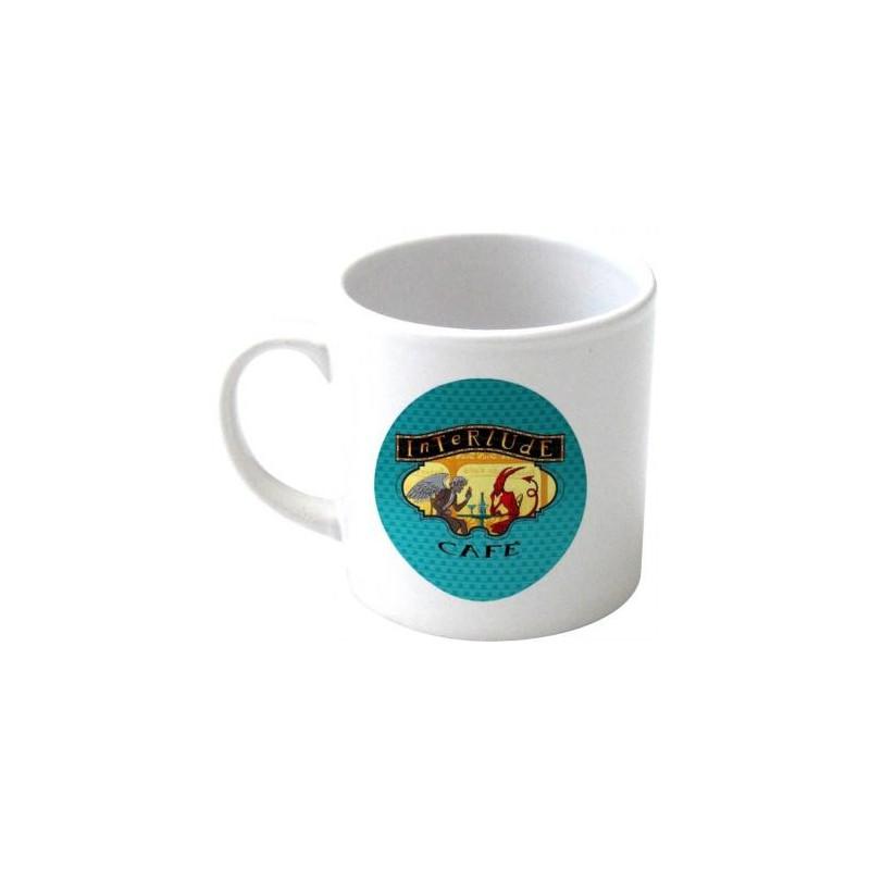 mini mug blanc personnalise