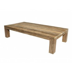 table basse rectangulaire taman teck recycle