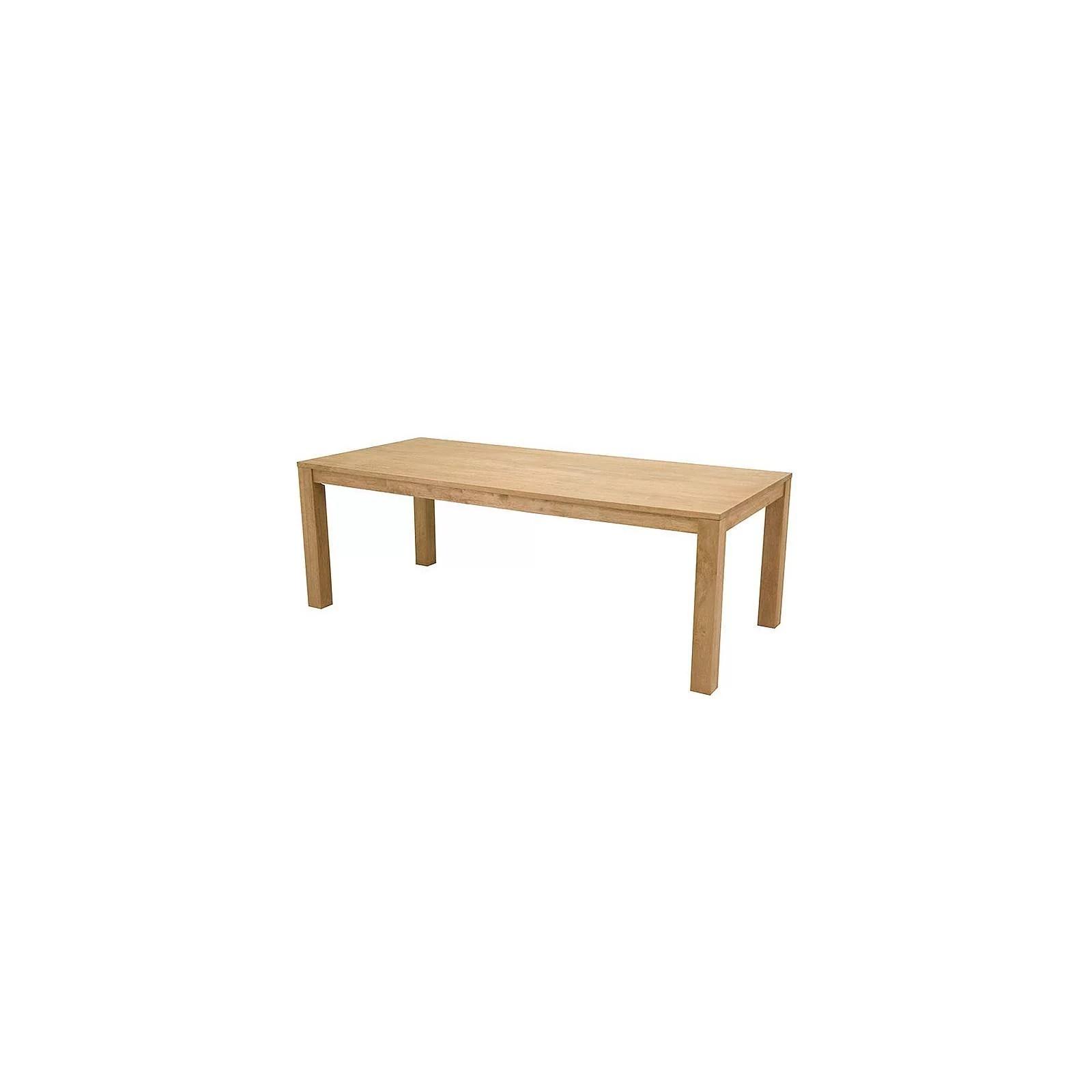 table bois massif et brut salle a manger