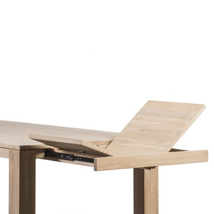 table carree avec rallonge extensible