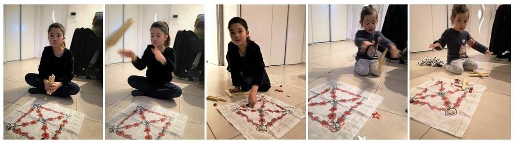 joueur de jeux traditionnel coréen