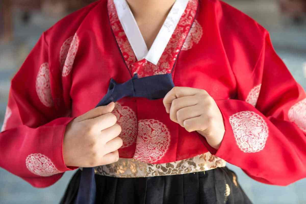 hanbok traditionnel Coréen