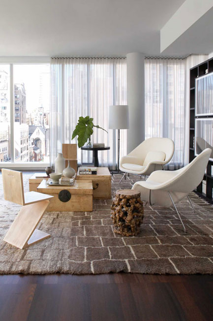 Un appartement t moin new york planete deco a homes world - Deco appartement new york ...