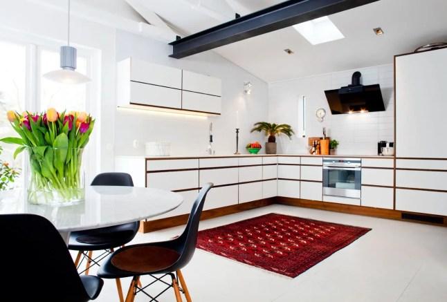 r novation totale dans une maison des ann es 50 planete deco a homes world. Black Bedroom Furniture Sets. Home Design Ideas