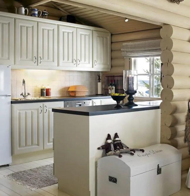 un chalet couleur caf au lait planete deco a homes world. Black Bedroom Furniture Sets. Home Design Ideas