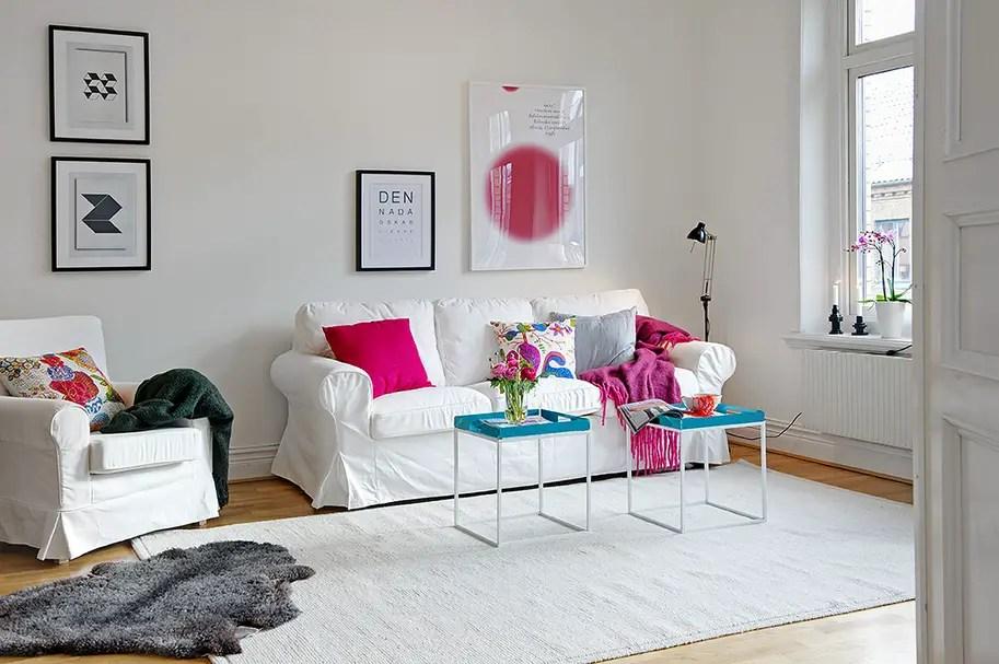rose et bleu turquoise pour un duplex planete deco a homes world. Black Bedroom Furniture Sets. Home Design Ideas
