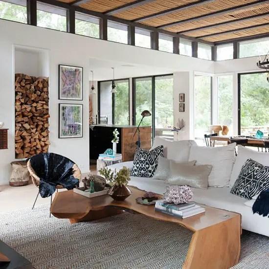 une maison au style rustique et vintage dans les hamptons planete deco a homes world. Black Bedroom Furniture Sets. Home Design Ideas