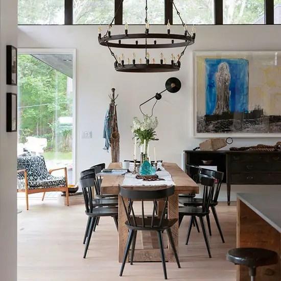 Une Maison Au Style Rustique Et Vintage Dans Les Hamptons Planete