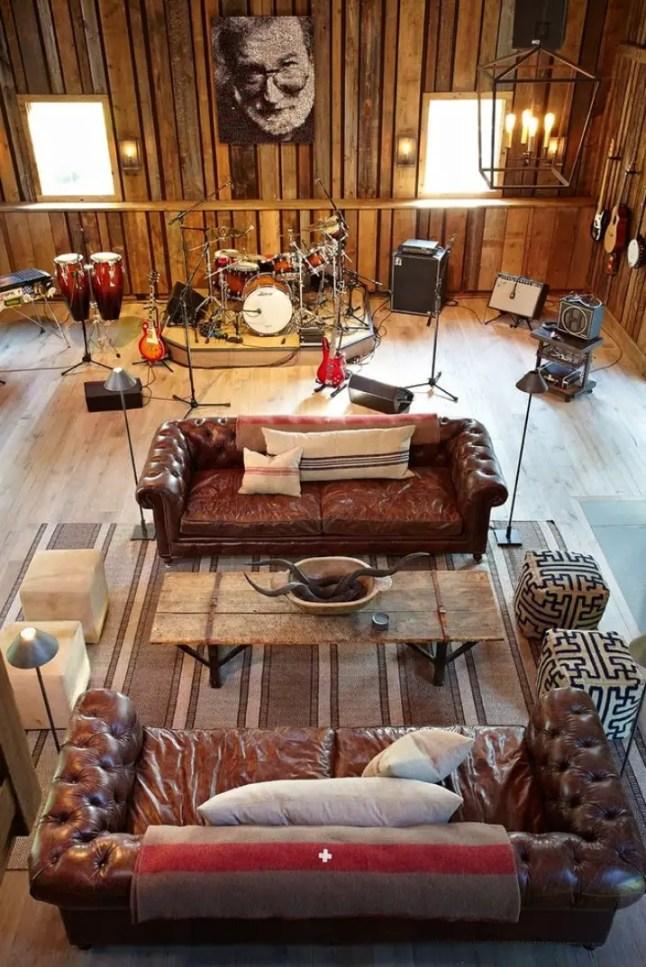 Esprit rock dans une ancienne table planete deco a for Deco appartement rock