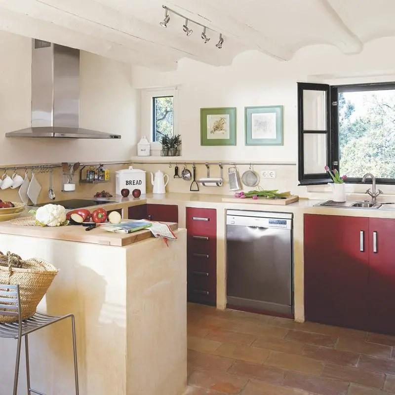 Une maison de campagne rustique et moderne planete deco for Deco cocinas modernas
