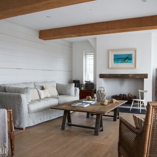 21 Most Wanted Contemporary Living Room Ideas: Style Nouvelle Angleterre Dans Le West Sussex
