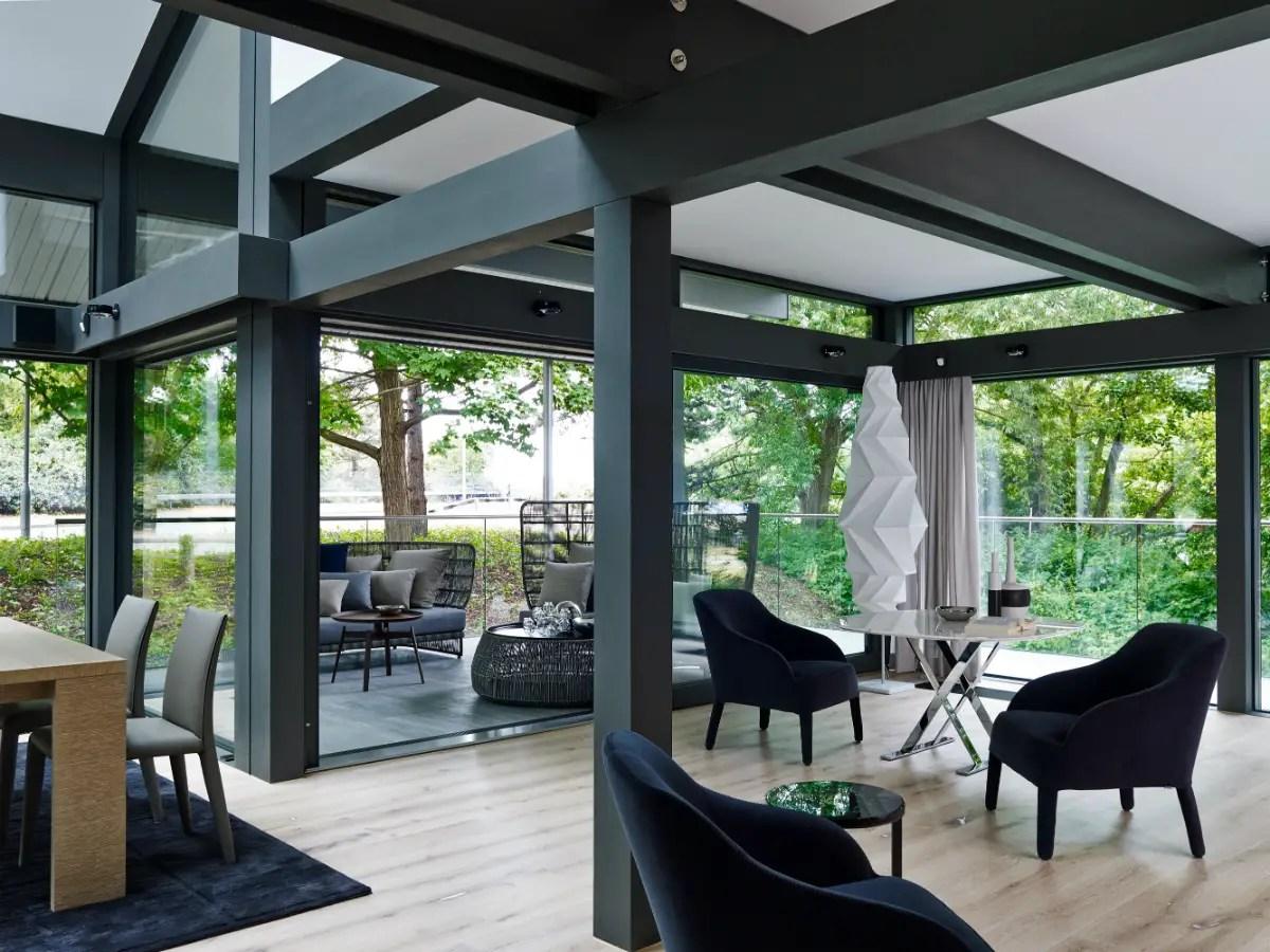Une maison chic et design constuite en 20 jours seulement - Case prefabbricate per terrazzo ...